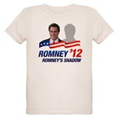 Anti-Romney Shadow Organic Kids T-Shirt