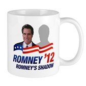 Anti-Romney Shadow Mug