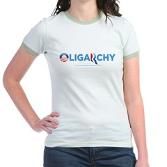 Oligarchy 2012 Jr. Ringer T-Shirt