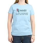 Anti-Romney: Very Poor Women's Light T-Shirt
