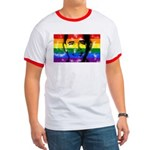 The LGBT community loves Prez Obama! This unique design has Obama's face superimposed over the rainbow gay pride flag. Show your support for Barack Obama & for his public support of marriage equality.