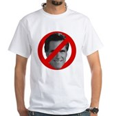 No Mitt White T-Shirt