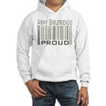 Military Army Girlfriends Proud Hooded Sweatshirt