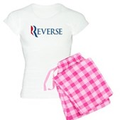 Anti-Romney Reverse Women's Light Pajamas