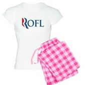 Anti-Romney ROFL Women's Light Pajamas