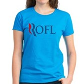 Anti-Romney ROFL Women's Dark T-Shirt