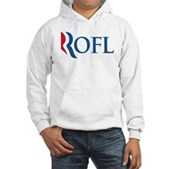 Anti-Romney ROFL Hooded Sweatshirt