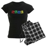 Teacher made of Elements whimsy Women's Dark Pajamas