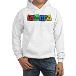 Teacher made of Elements whimsy Hooded Sweatshirt