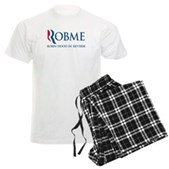 Anti-Romney Rob Me Robin Hood Men's Light Pajamas