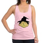 Happy Green Witch Racerback Tank Top