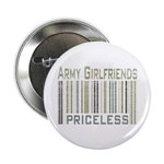 Army Girlfriends Priceless Barcode Button