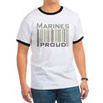 Marines Proud Military Ringer T