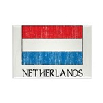 Netherlands Flag Rectangle Magnet