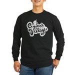 Crystal Village Long Sleeve Dark T-Shirt