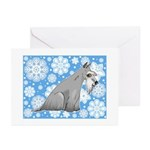 Miniature Schnauzer Holiday Cards