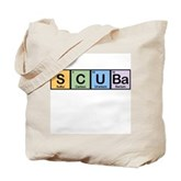 Elements of Scuba Tote Bag