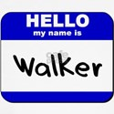 hello my name is walker Baseball Jersey