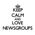 Keep calm and love Newsgroups T-Shirt