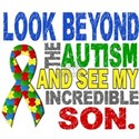 Look Beyond Autism Son Shirts