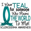 Scleroderma MeansWorldToMe1 White T-Shirt