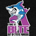 Bite Out Of Cystic Fibrosis T-Shirt