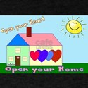 Open Your Home laptop skin T-Shirt