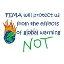 FEMA Global Warming White T-Shirt
