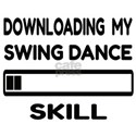 Downloading My Swing dance Skill White T-Shirt