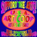 Support the Arts Coop T-Shirt