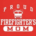 Proud Firefighter's Mom t-shirt