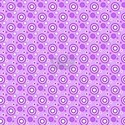 Concentric Circles in Purple T-Shirt