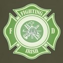 Fighting Irish Firefighter Dark T-Shirt