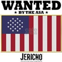 Jericho: Wanted By The A.S.A. White T-Shirt