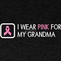 Breast Cancer: Pink For My Grandma T-Shirt