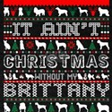 It Aint Christmas Without My Brittany T-Shirt