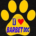 I Love Barbet Dog T-Shirt