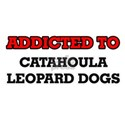 Addicted to Catahoula Leopard Dogs T-Shirt