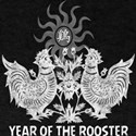 Year of The Rooster Papercut T-Shirt
