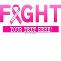 Fight Cancer Ribbon Personalized T-Shirt