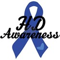H D Huntingtons Awareness T-Shirt