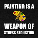 Weapon of Stress Reduction Painting T-Shirt