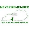 Never Remember Bowling Green Massacr White T-Shirt