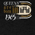 Gothic Birthday Queens Castle Born 1985 T-Shirt