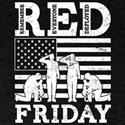 Red Friday Flag Soldiers T-Shirt