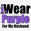 I Wear Purple For My Husband