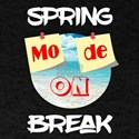 Funny Spring Break Mode On Shirt Vacation T-Shirt