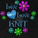 Live Love Knit T-Shirt