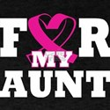 For My Aunt Breast Cancer Awareness T-Shirt