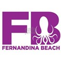 Fernandina Beach Octopus T-Shirt